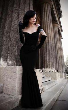 Sexy Off the Shoulder Gothic Style Prom Dresses 2016 Black Velvet Mermaid  Evening Gowns Long Formal Party Dress Vestido de festa New Arrival bc37e8ad605e