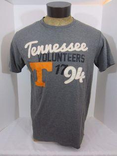 TENNESSEE VOLUNTEERS Gray UT VOLS Men's Graphic T-shirt Size Large #KAKnights #TennesseeVolunteers
