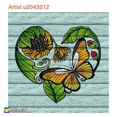 Weekly New Picture Heart shape #sunflower with #butterfly  ----------------- Let more people see your masterpiece   Tag/DM me or #colorfly #colorflyapp #colorflyart to spread your art. ----------------- #freeapp #coloringapp #pigmentapp #adultcoloringapp #coloring #coloringbook #coloringbookforadults #coloringbooks #coloringpages#coloringtime #adultcoloring #stressfree #stressrelief #colorfy #colorfyapp #picoftheday #recolor #fun #colortherapyapp #art #love #塗り絵 #heart #painting #cute