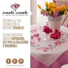 tovaglie Cash and Cash #cashandcash #perugia #cittàdicastello #umbria