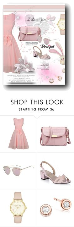 """Rosegal 8"" by marinadusanic ❤ liked on Polyvore featuring Kate Spade and vintage"