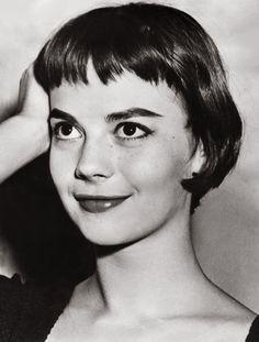 1955 Un ritratto di Natalie Wood, che in West Side Story interpretava la protagonista, Maria (STAFF/AFP/Getty Images)