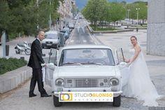 Coche de boda #fotografoboda