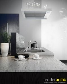 Cocina #interior #visualisation