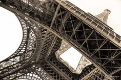 Under the Eiffel tower by Francois Pheulpin