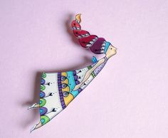 Etsy, Fairy Brooch or Necklace by lacravatteduchien on Etsy, €16.00