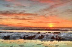 Sunset Beverly Beach  Christian Flores-Munoz