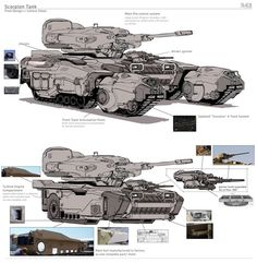 Futuristic Armour, Futuristic Art, Army Vehicles, Armored Vehicles, Concept Ships, Concept Cars, Robot Militar, 3d Mode, Future Weapons