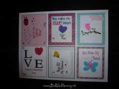 Free Printable Thumb/Finger Print Themed Valentine's | Deal Wise Mommy | Coupons | Giveaways | Deals | Freebies