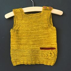 Note: This pattern has been updated. The main change is that the neckline has been raised. Knitting For Kids, Baby Knitting Patterns, Knitting Projects, Knitting Ideas, Crochet Baby, Crochet Top, Toddler Chores, Toddler Boy Outfits, Toddler Boys