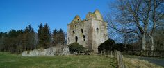 Newark Castle (Selkirk)   Scottish Borders and Lothians   Castles, Forts and Battles