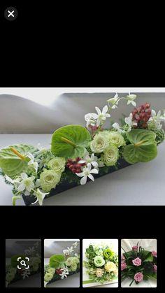 Contemporary Flower Arrangements, Tropical Floral Arrangements, White Flower Arrangements, Christmas Flower Arrangements, Floral Centerpieces, Deco Floral, Arte Floral, Floral Design, Fruit Flower Basket