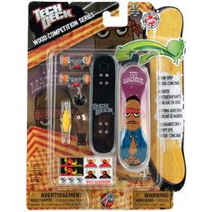 Tech Deck Wood Competition Series Finger Board Set TOY MACHINE for only $13.99 You save: $6.00 (30%)