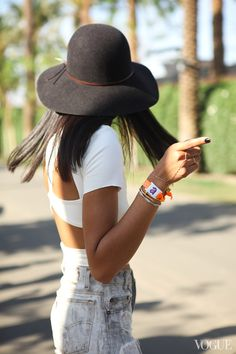 Coachella 2013 Street Style - - Vogue  Photo by Leslie Kirchhoff