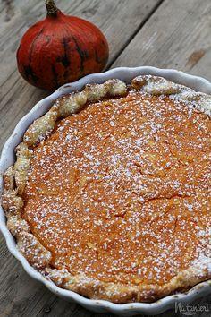 korenistý tekvicovo-jablkový koláč