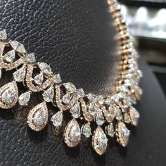 """164 Likes, 7 Comments - Begani Jewels (@beganijewels) on Instagram: """"Rose Gold Polished Necklace Brings Some Sunshine On A Rainy Day! #diamonds #jewellery #rosegold…"""""""