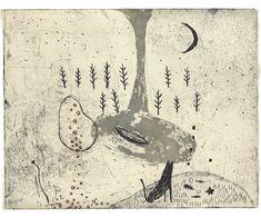 オバタクミの銅版画 Kumi Obata / Gallery 4