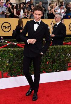 Like he's literal perfection. | Okay, But Eddie Redmayne Is This Awards Season's Best Dressed Babe