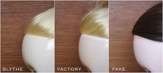 Blythe comparison Scalp Line | Flickr - Photo Sharing!