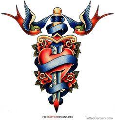 turn the sword into a cross, birds, heart, faith hope and grace