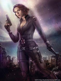 The Avengers: Black Widow by keelerleah on @DeviantArt