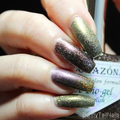 BunnyTailNails: El Corazon – Theme Week : How low can you holo?