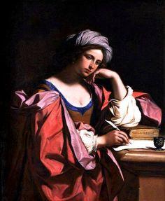 Giovanni Francesco Barbieri detto il Guercino, La Sibilla Persica