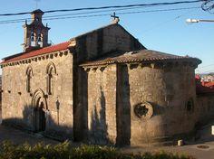 Igrexa románica de Santa María de Castrelos, Vigo (Pontevedra)