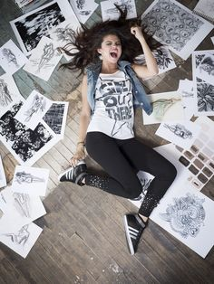 Selena Gomez - Adidas NEO 2013 Fall Photoshoot