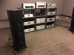 Audio Research Corporation - Australian launch of G Series pre-power amplifier with beautiful Sonus faber Amati Futura at Audio Solutions in Sydney.  Via @SynergyAudio