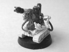 Jokaero weaponsmith mechanicus conversion Warhammer 40k