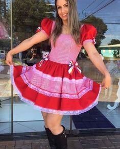 Vestidos para Festas Juninas | Como fazer em casa Apron, Fashion Dresses, Dress Up, Costumes, Summer Dresses, Casual, Squad, Party Skirt, Party Wear