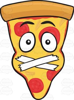 Slice Of Pepperoni Pizza Face With Taped Mouth Emoji #americanpizza #caricature #cartoon #cartoonface #censored #cheese #cheesy #cheeza #chicagostyle #crust #emoji #emoticon #faceonfood #food #forced #meltedcheese #moderated #mozzarella #mozzarellacheese #pepperoni #pepperonichips #pepperonislices #pie #pizza #pizzapie #pizzaslice #silence #single #singleslice #slice #smiley #smilies #tape #thickcrust #thincrust #trianglepizza #vector #clipart #stock