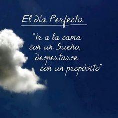 #proposito #sueño #vida #frases