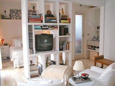 TV that spins. Perfect for a studio!