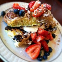Ann Sather French Toast Fantasy...the best french toast I've ever had,....so far.