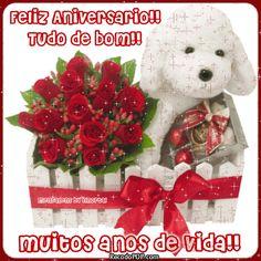 flores de feliz aniversario imagens | Recado Facebook Feliz aniversário tudo de bom