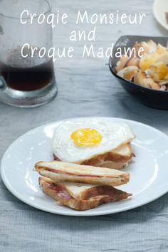 Croque Monsieur and Croque Madame www.masalaherb.com