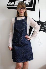 Free dungaree dress pattern saved to cloud