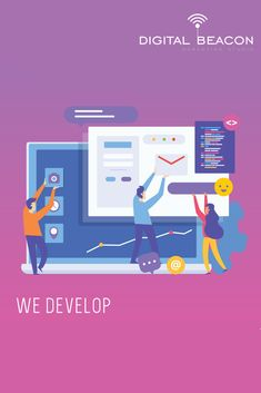 Digital beacon marketing studio is a full-stack web development services provider. We offers custom web development and CMS Services in delhi, India. Digital Marketing Services, Seo Services, Social Media Marketing, What Is Search Engine, Business Goals, Search Engine Optimization, Web Development, Engineering, Web Design