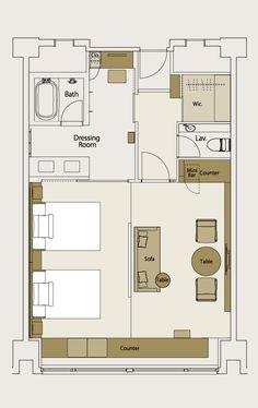 HOTEL THE CELESTINE KYOTO GION Celestine Deluxe Higashiyama 63.8㎡〜66.2㎡