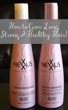 How To Grow Long, Strong, And Healthy Hair! www.ashleybrookenicholas.com