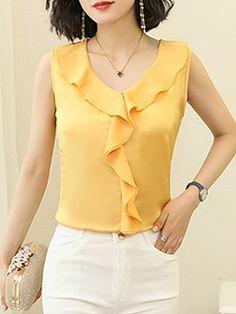 Pandapang Womens Stand Collar Velour Stylish Flare Sleeve T-Shirt Top Tee