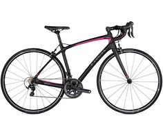 Silque SL - Women's collection - Trek Bicycle. Another Trek bike with great pink accents.