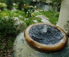 The fountain is one form of the presence of the water element in several houses. Here are some fountain ideas that you can apply to your home
