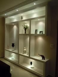 Shelf design by Meenu Agarwal Niche Design, Shelf Design, Wall Design, House Design, Plafond Design, Muebles Living, Drywall, Interior Decorating, Interior Design