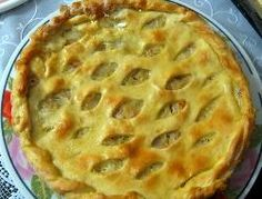 Receta: Tarta de tomates, albahaca y mozzarella