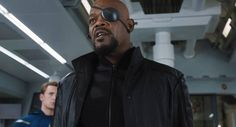 Samuel L. jackson - Nick Fury - The Avengers