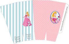 Aurora (Bela Adormecida) - Kit Completo com molduras para convites, rótulos para guloseimas, lembrancinhas e imagens!