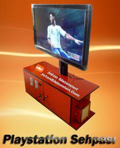 PARA VEYA JETON İLE ÇALIŞAN PLAYSTATİON KABİNLERİ  http://www.jetonsistemleri.com/otomat/para-veya-jeton-ile-calisan-playstation-kabinleri.html